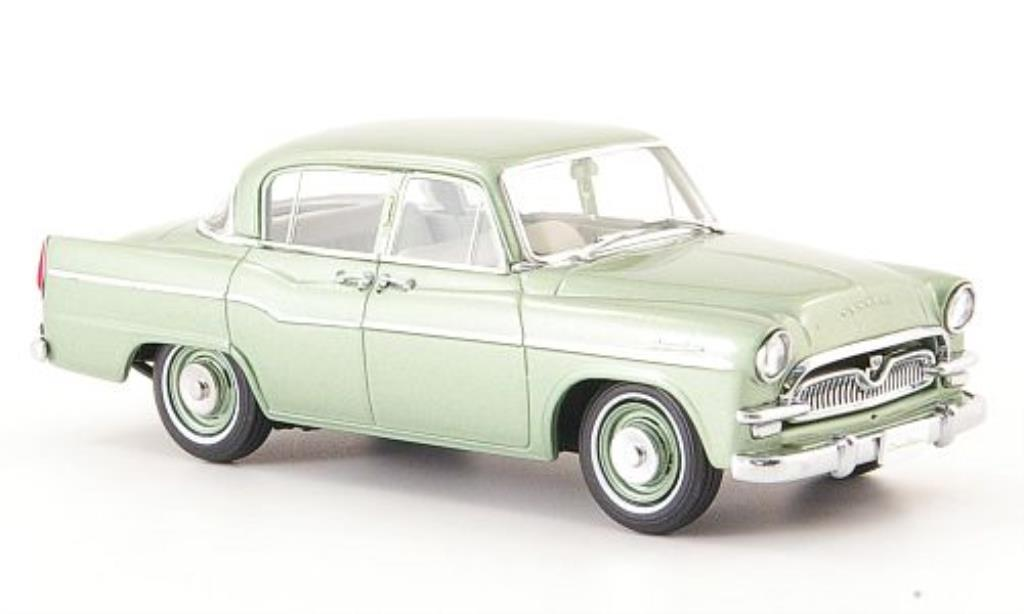 Toyopet Crown 1/43 Ebbro DX (21) grun 1958 miniature