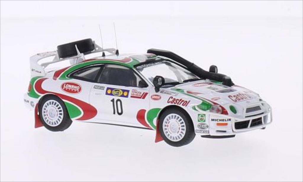 Toyota Celica 1/43 Trofeu GT Four No.10 Castrol Rallye WM Safari Rallye 1996 /D.Williamson diecast model cars