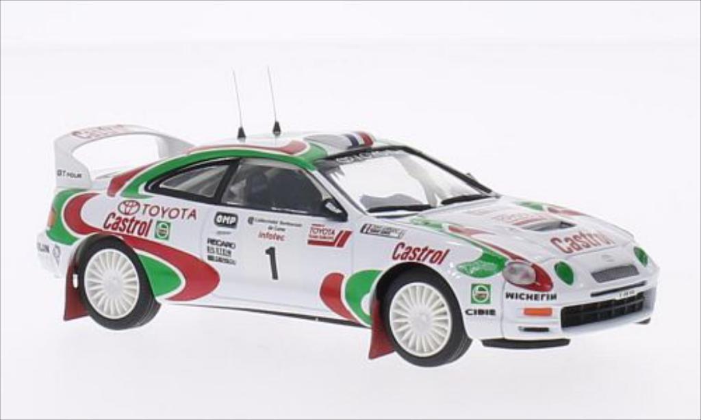 Toyota Celica 1/43 Trofeu GT-Four (St205) No.1 Team Europe Castrol Rallye WM Tour de Corse 1995 /D.Auriol miniature