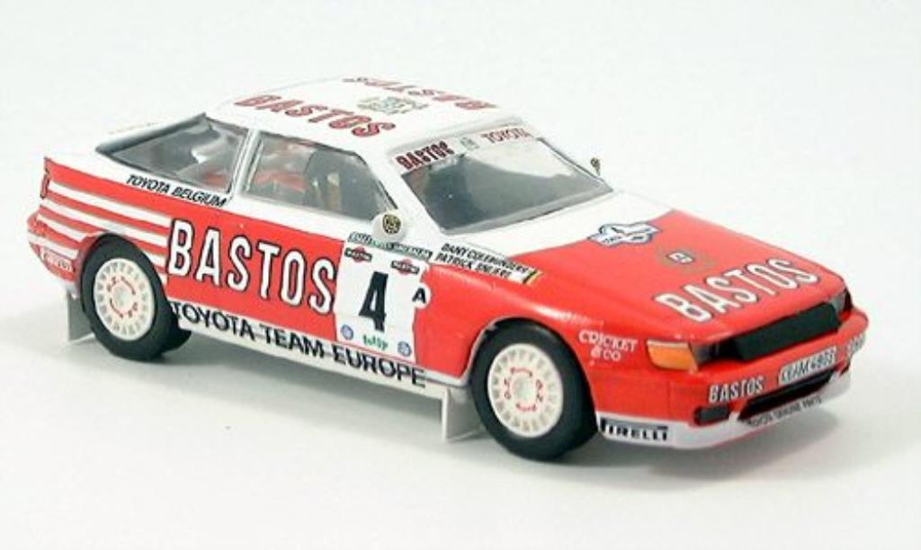 Toyota Celica GT4 1/43 Trofeu No.4 Bastos miniature