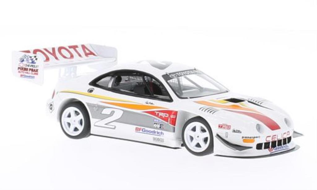 Toyota Celica 1/43 Spark Super Sport Turbo No.2 Pikes Peak 1994 miniatura