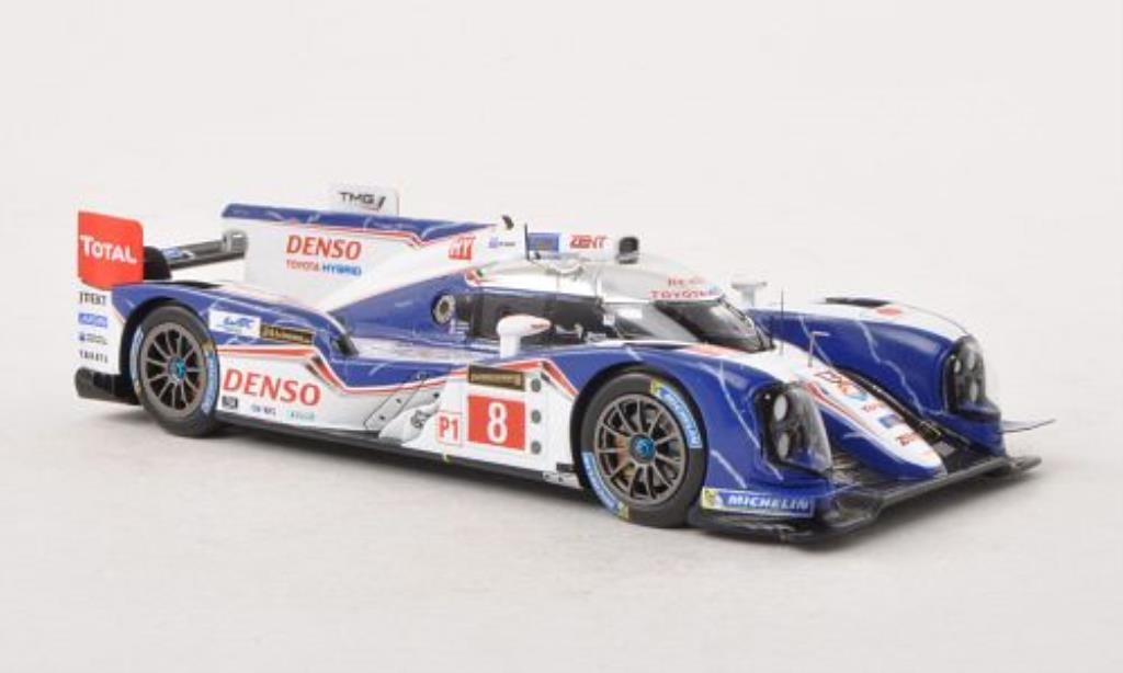 Toyota TS030 1/43 Spark Hybrid No.8 24h Le Mans 2013 /S.Sarrazin miniature