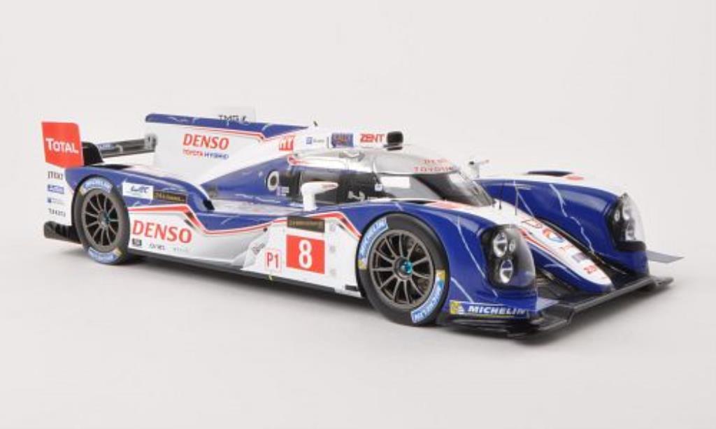 Toyota TS030 1/18 Spark Hybrid No.8 Denso 24h Le Mans 2013 /S.Sarrazin miniature