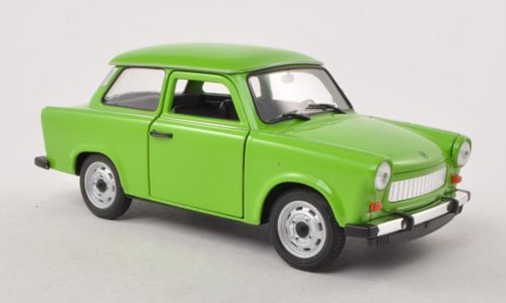Trabant 601 1/24 Welly grun miniature