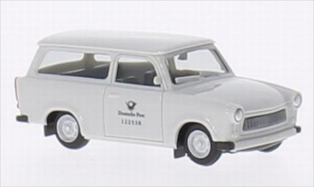 Trabant 601 1/87 Herpa Universal Deutsche Post miniature