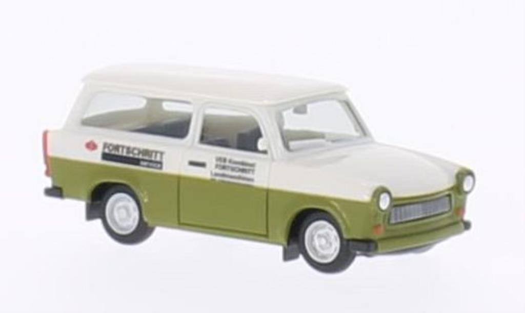Trabant 601 1/87 Herpa Universal Fortschritt Service miniature