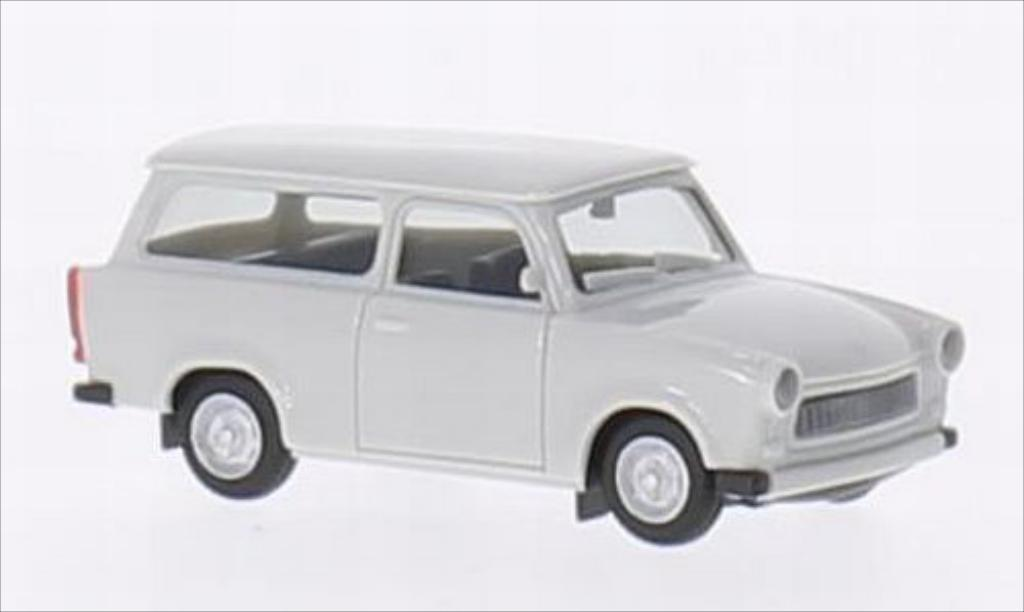Trabant 601 1/87 Herpa Universal grise miniature