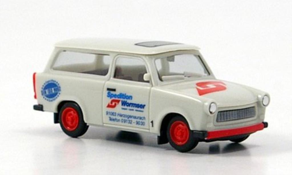 Trabant 601 1/87 Herpa Universal Spedition Wormser miniature