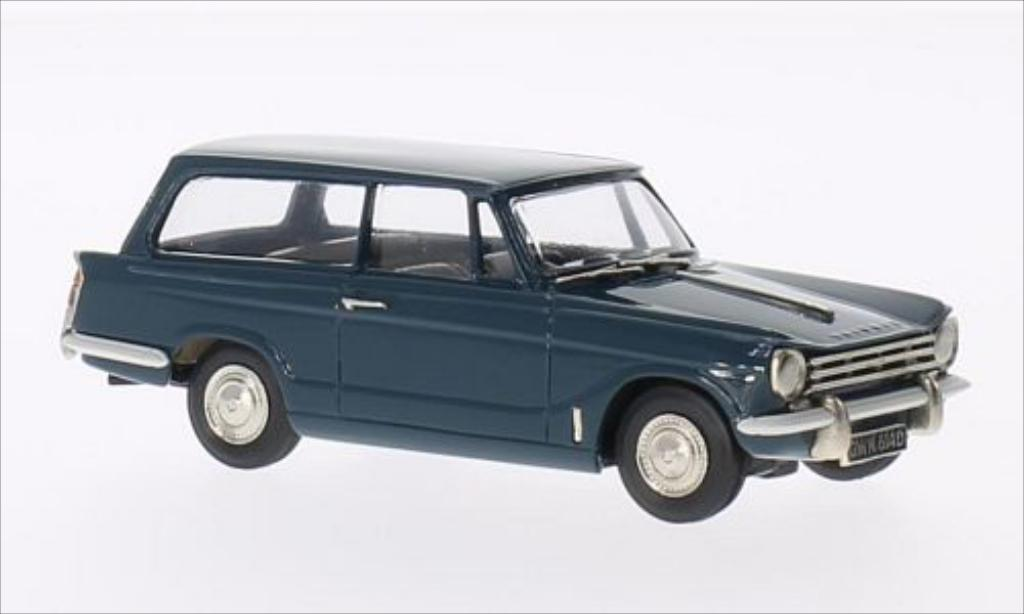 Triumph Herald 1/43 Brooklin 13/60 Estate bleu 1965 miniature
