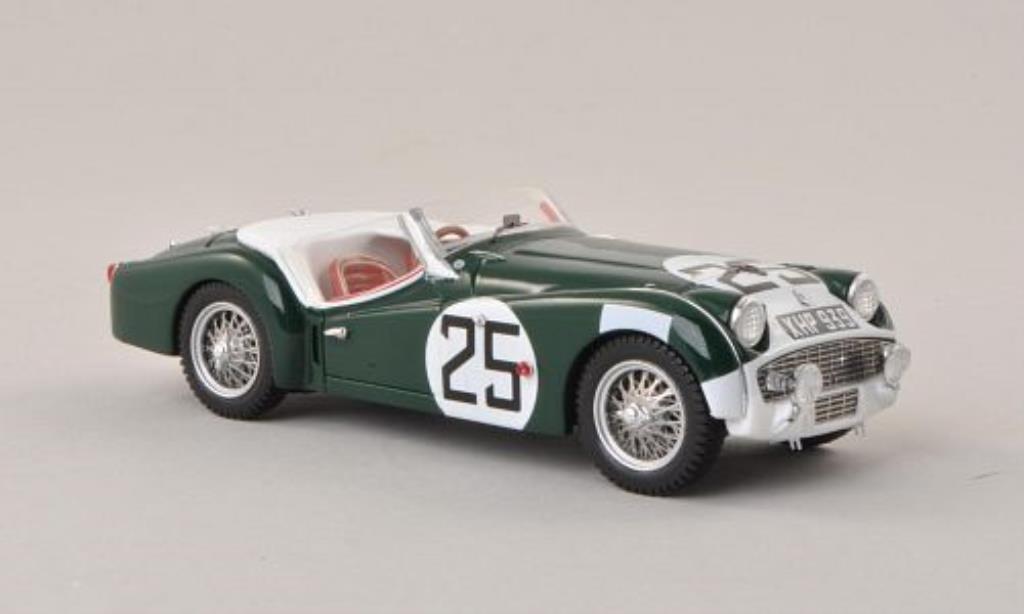 Triumph TR3 S 1/43 Spark No.25 24h Le Mans 1959 /D.Stoop miniature
