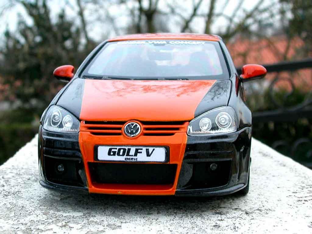 Volkswagen Golf V GTI 1/18 Norev zender jantes alu miniature
