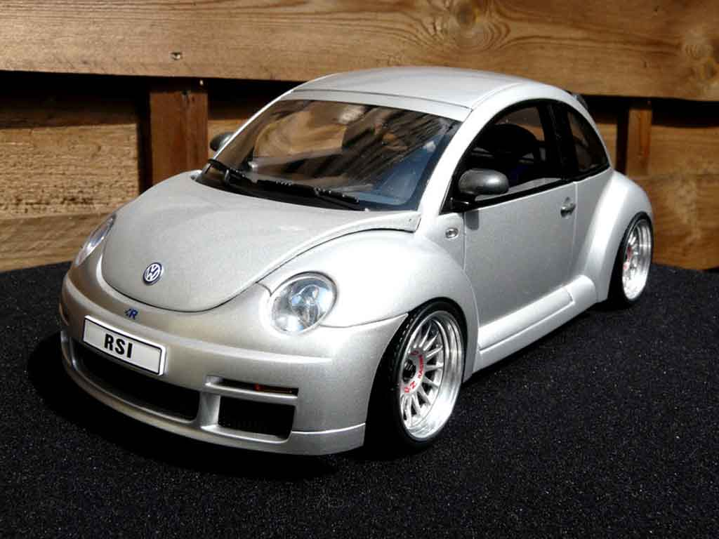 Volkswagen New Beetle RSI 1/18 Autoart r diecast model cars
