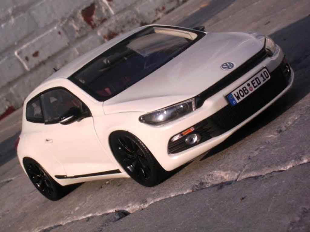 Volkswagen Scirocco 1/18 Norev 3 2.0 tsi blanche