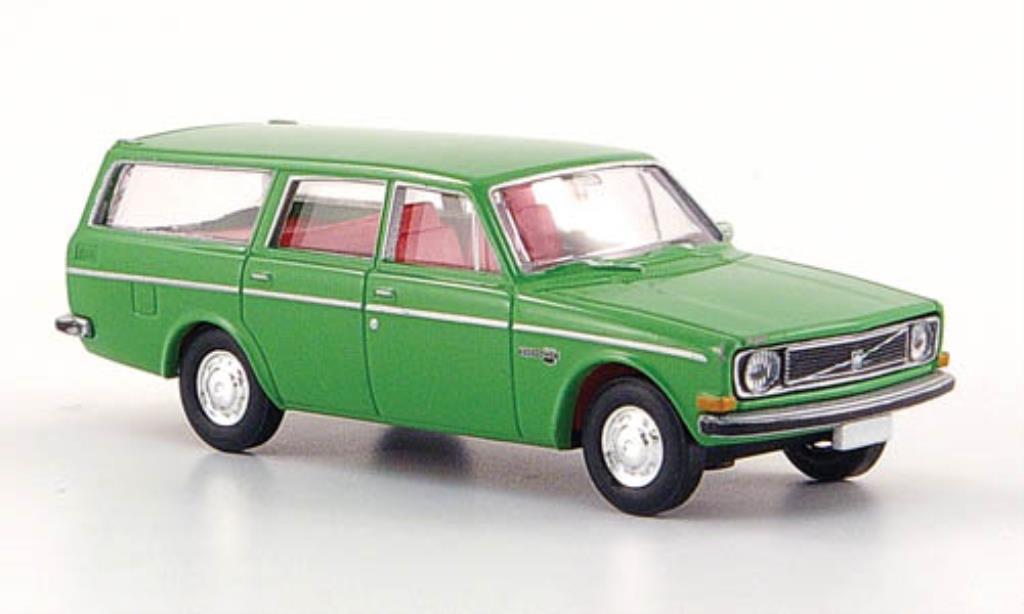 Volvo 145 1/87 Brekina verte miniature