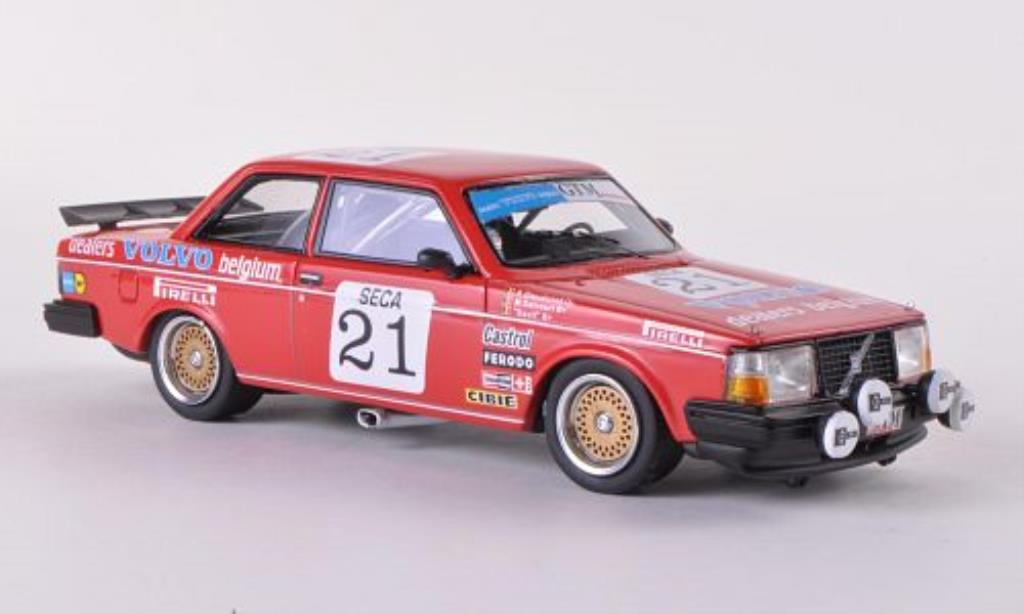 Volvo 240 Turbo 1/43 Neo Gr.A No.21Team Delcourt ETCC 1984 /Davit miniature