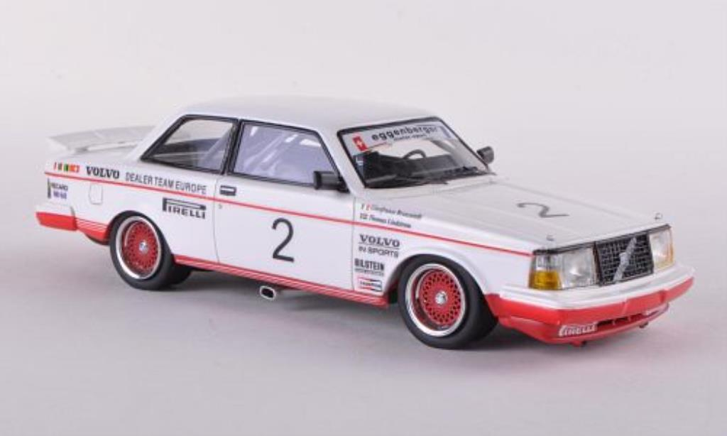 Volvo 240 Turbo 1/43 Neo No.2 Eggenberger ETCC 1985 /Brancatelli miniature