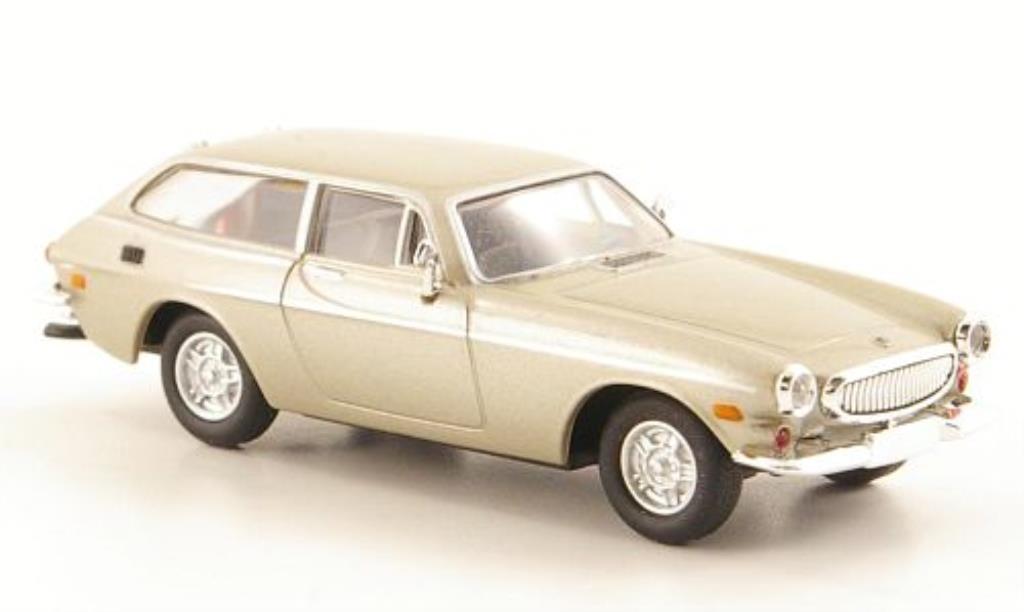Volvo P1800 1/87 Herpa ES grise-beige miniature
