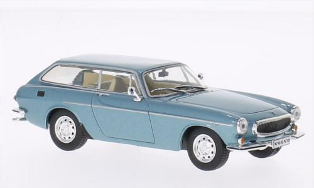 Volvo P1800 1/43 WhiteBox ES metallise bleu 1972 miniature