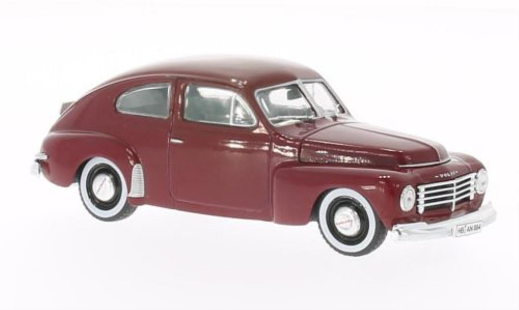 Volvo PV 1/43 WhiteBox 444 rouge 1943 miniature