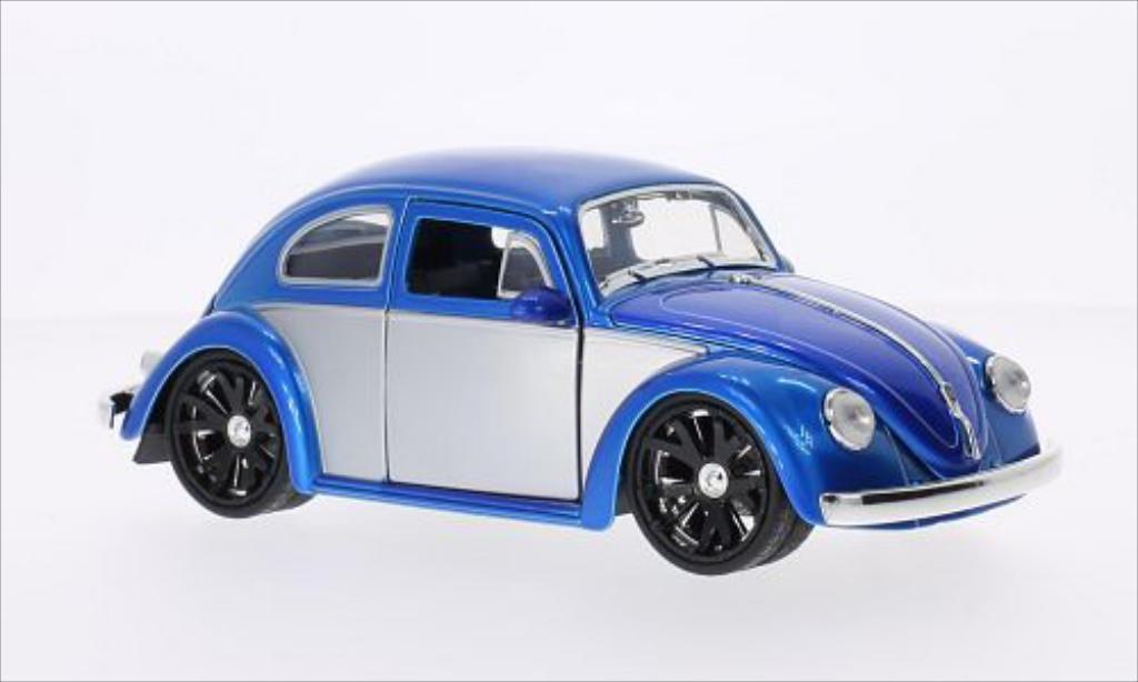 Volkswagen Beetle 1/24 Jada Toys Toys (Kafer) Tuning bleu/grise 1959