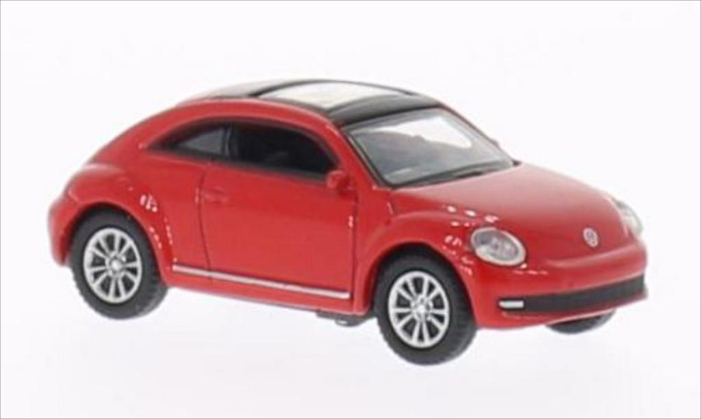 Volkswagen Beetle 1/87 Welly red diecast