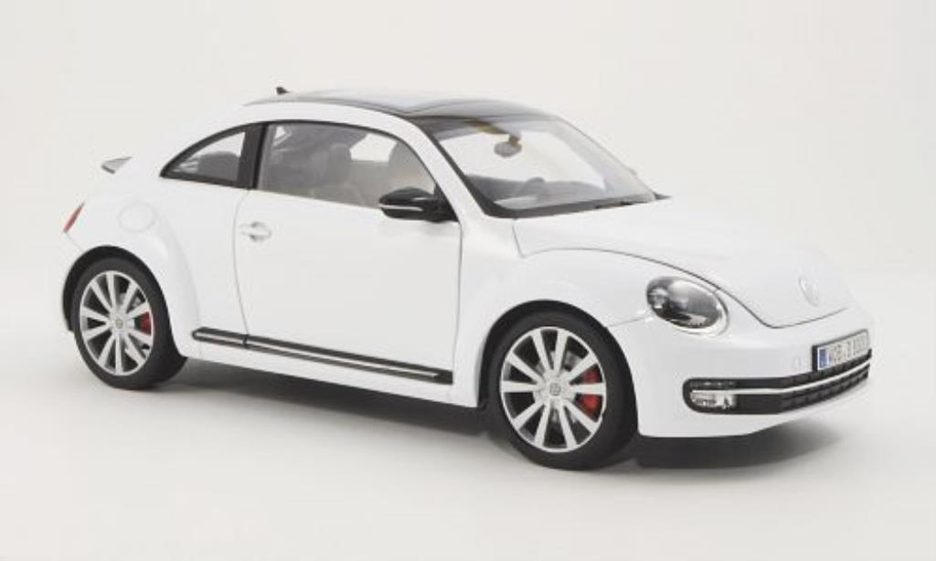 Volkswagen Beetle 1/18 Welly white 2012