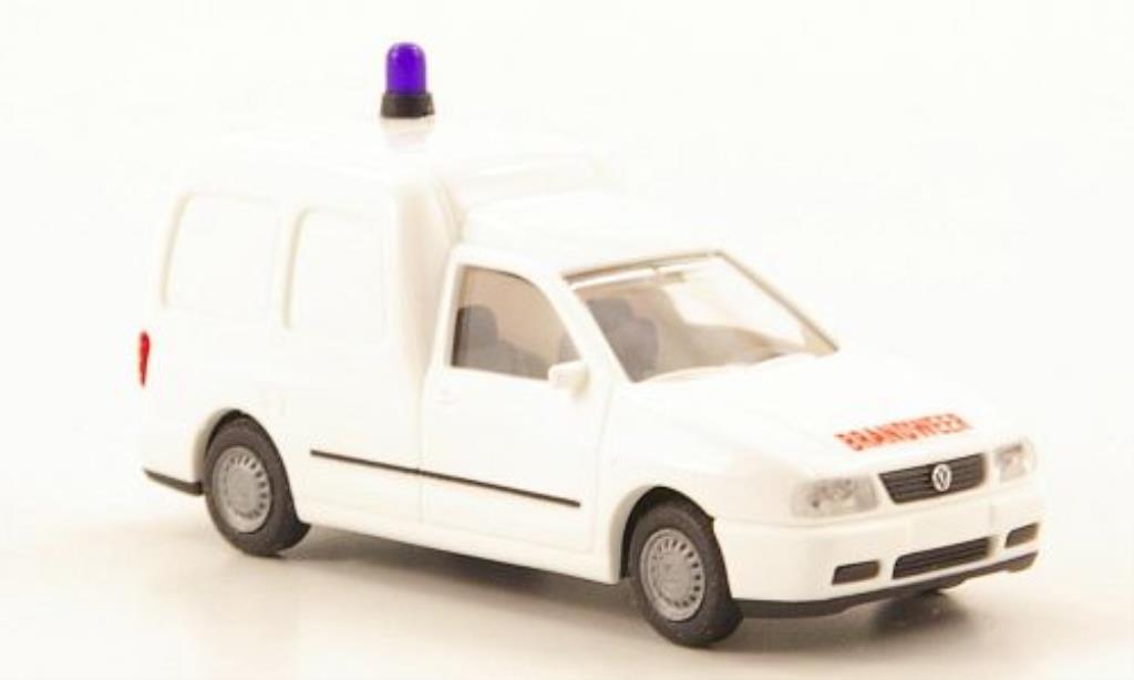 Volkswagen Caddy 1/87 Rietze Brandweer (SM-B) diecast