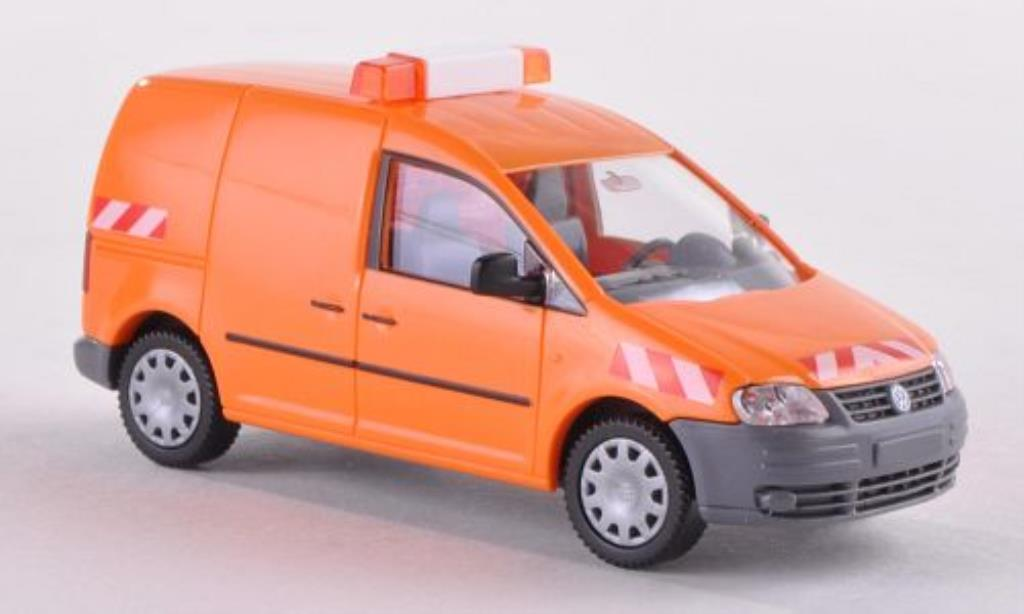 Volkswagen Caddy 1/87 Wiking Kasten Streckenkontrolle miniature