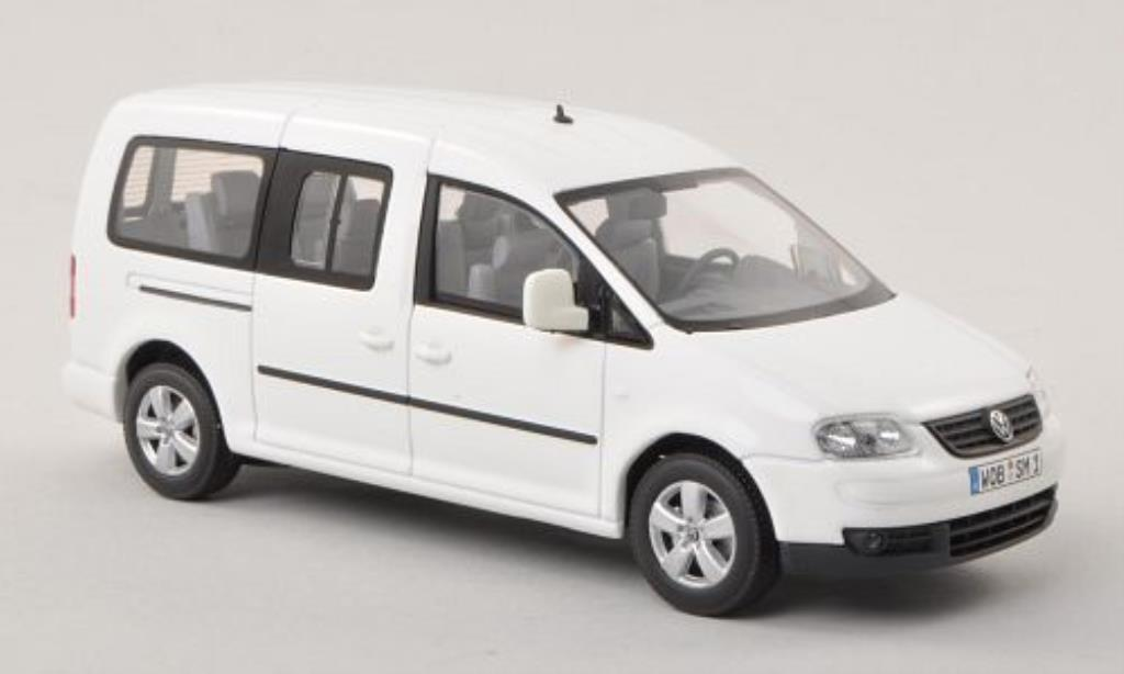 Volkswagen Caddy 1/43 Minichamps Maxi Life white diecast model cars