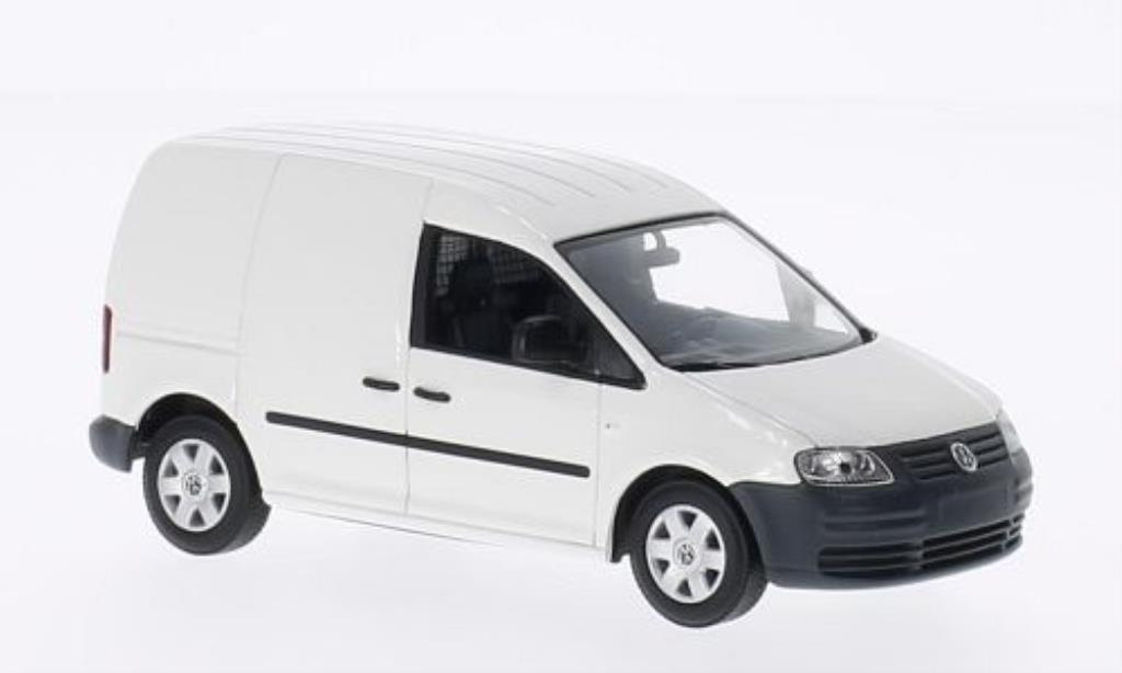 Volkswagen Caddy 1/43 Minichamps white 2004 diecast model cars