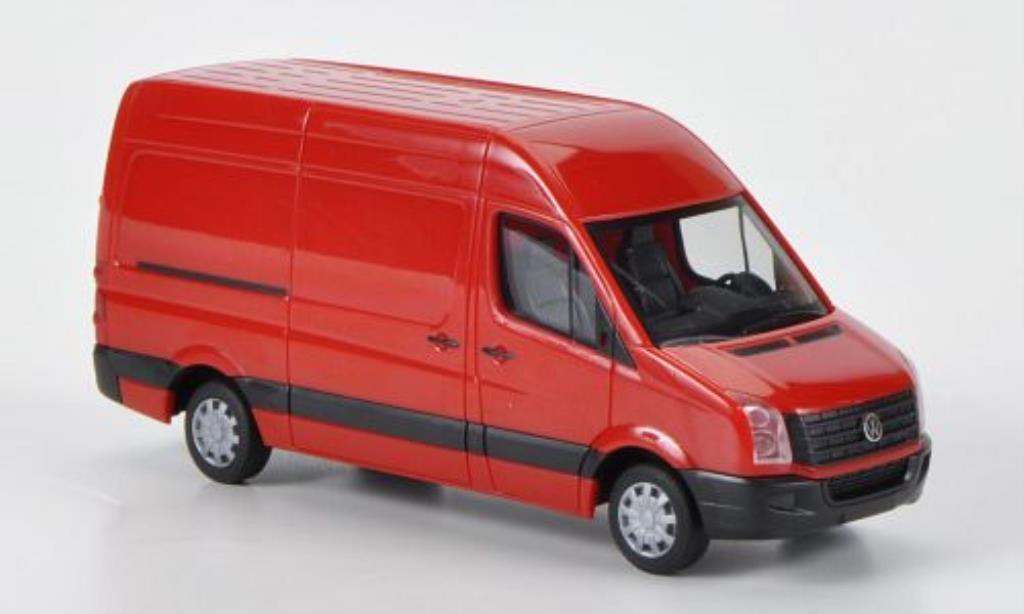 Volkswagen Crafter 1/87 Herpa Kasten HD red 2011 diecast