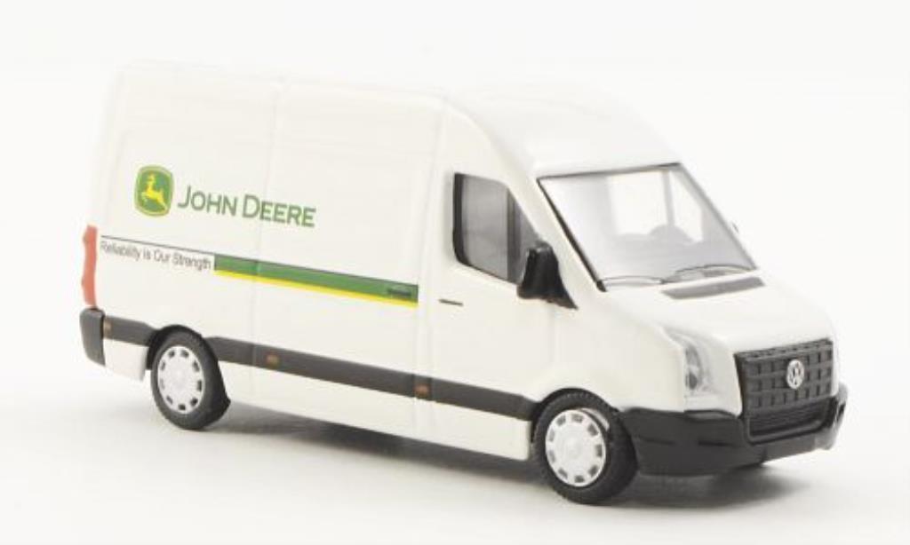 Volkswagen Crafter 1/87 Schuco Kasten John Deere diecast