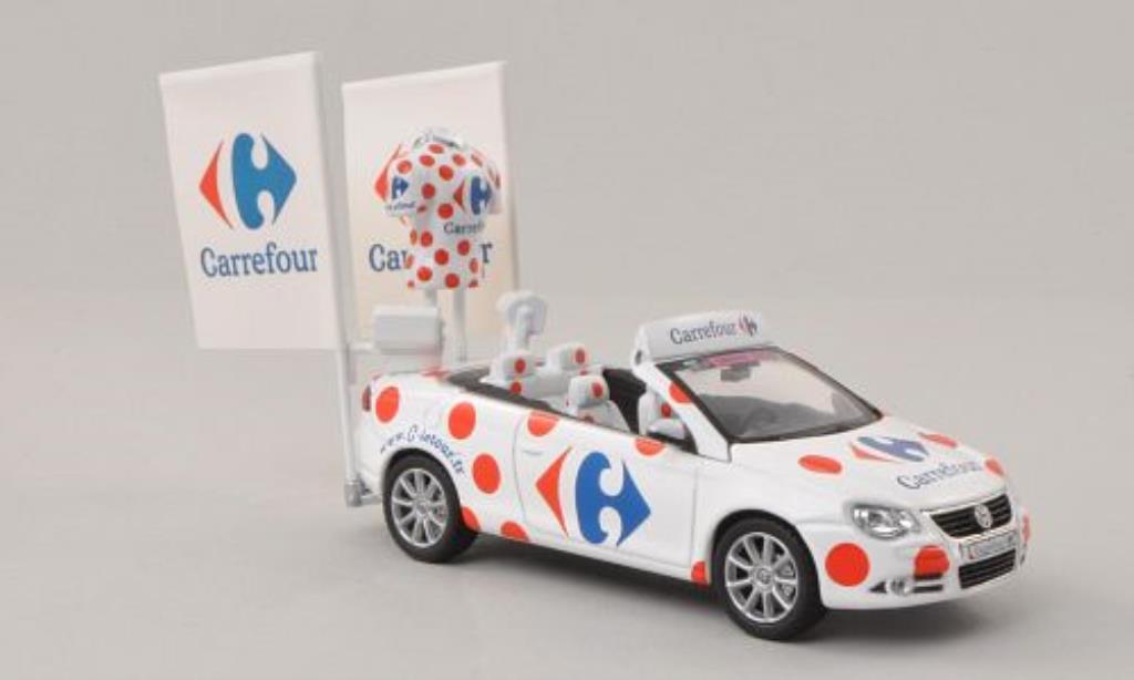 Volkswagen Eos 1/43 Norev Carrefour Tour de France 2011 miniature