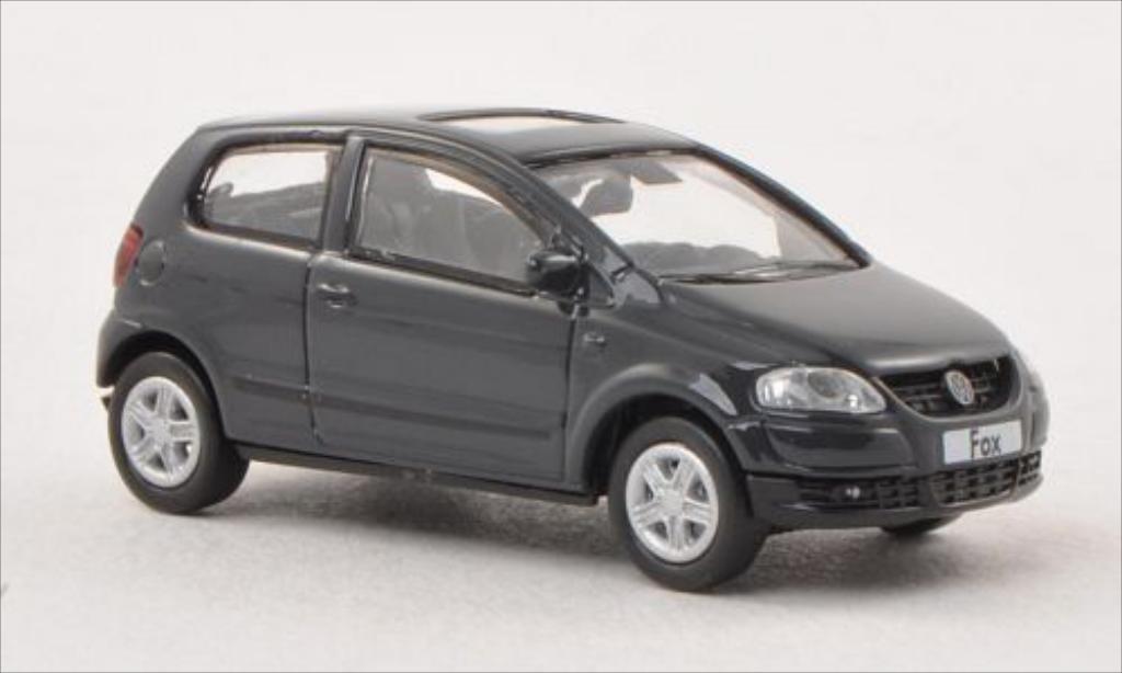 Volkswagen Fox 1/87 Norev grise 2005
