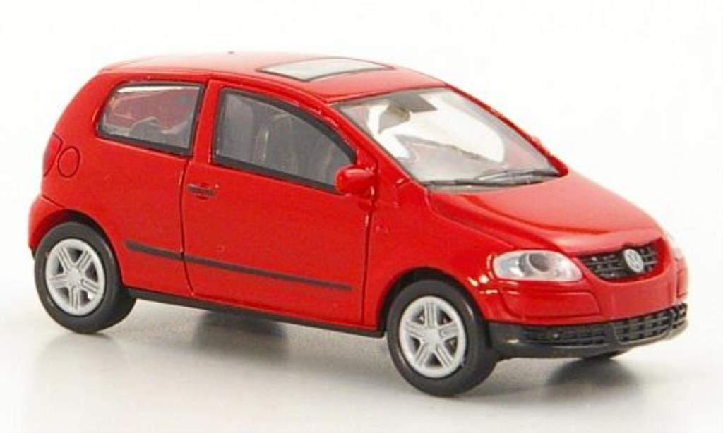 Volkswagen Fox 1/87 Norev rouge miniature