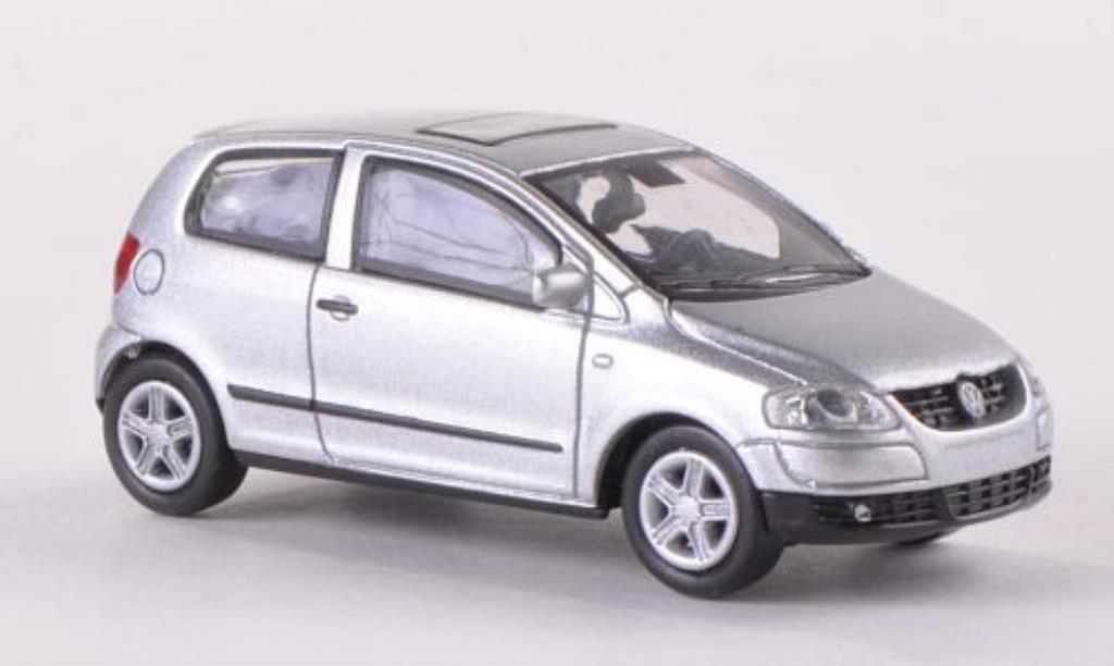 Volkswagen Fox 1/87 Norev grise miniature