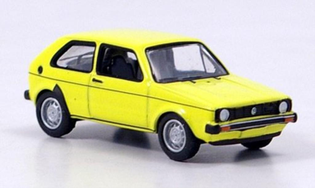 Volkswagen Golf I 1/87 Bub yellow diecast