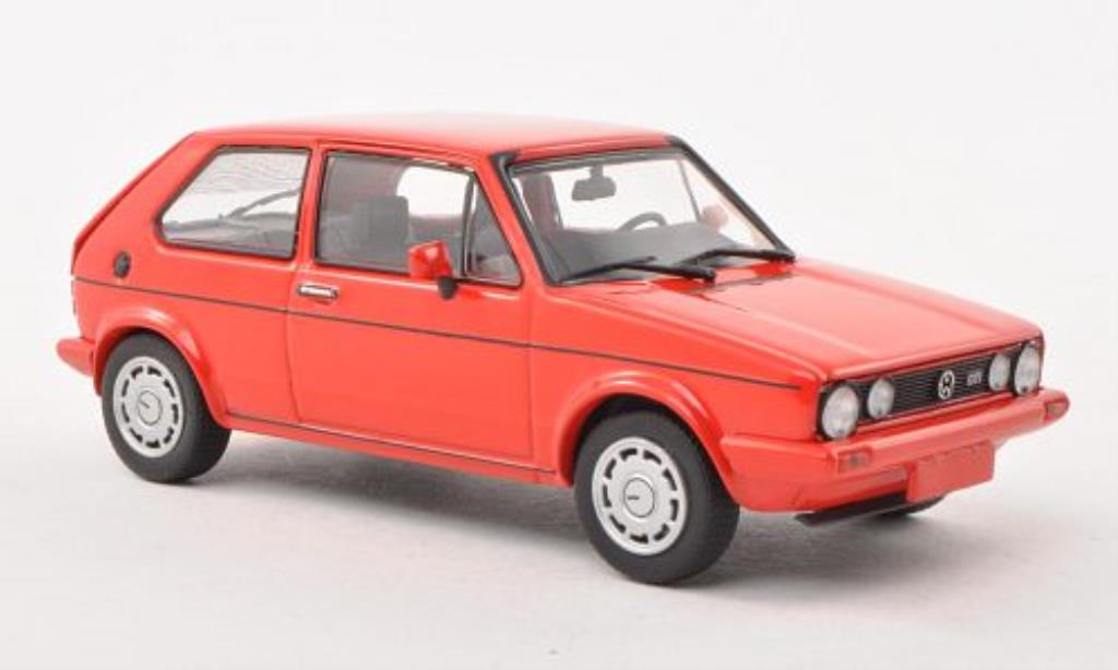 Volkswagen Golf I 1/43 Minichamps GT Pirelli red 1983 diecast model cars