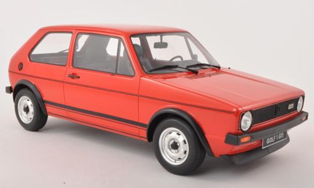 Volkswagen Golf I 1/12 Ottomobile GTI rouge 1976 miniature