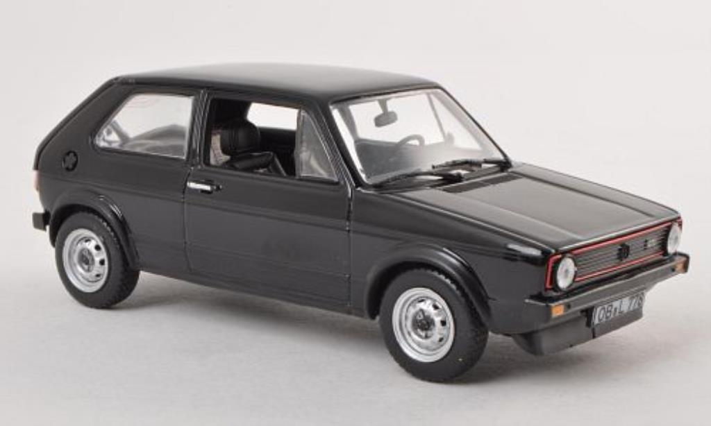 Volkswagen Golf I 1/43 Norev GTI black 1976 diecast