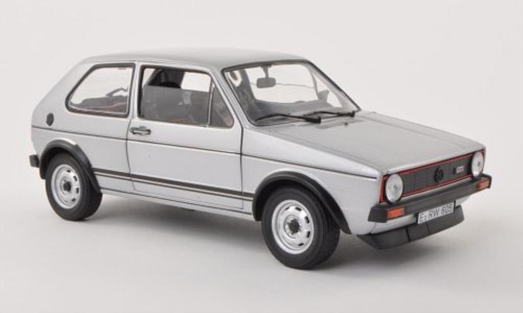 Volkswagen Golf I 1/18 Norev I GTI grise 1976 miniature