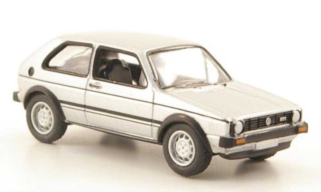 Volkswagen Golf I 1/87 Bub GT grise miniature