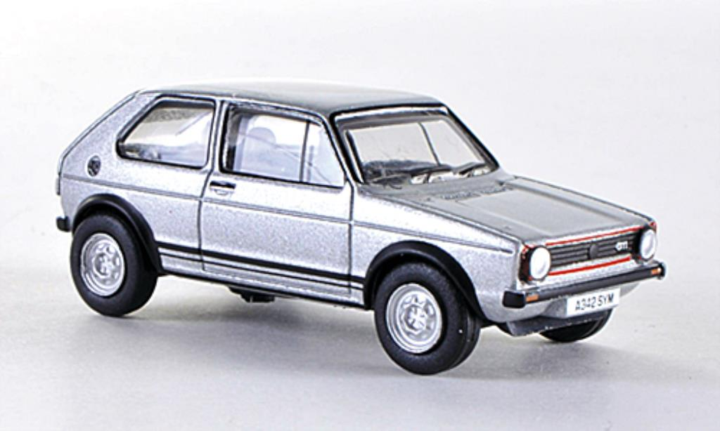 Volkswagen Golf I 1/76 Oxford GTI gray RHD diecast