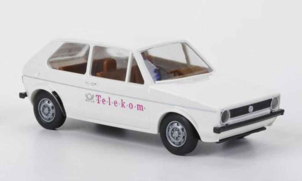 Volkswagen Golf I 1/87 Brekina Telekom miniature