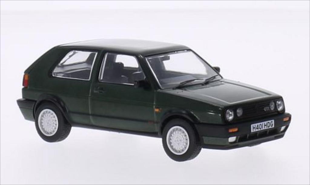 Volkswagen Golf 2 GTI 1/43 Vanguards 16V green RHD diecast