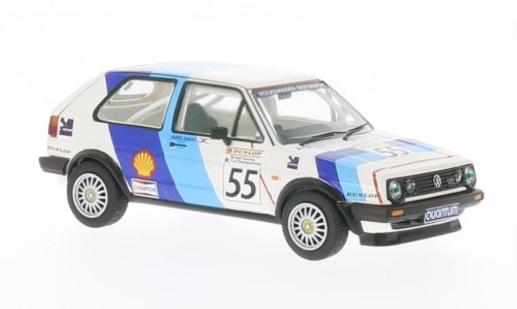 Volkswagen Golf 2 GTI 1/43 Vanguards 16V No.55 Dunlop RAC BTCC 1988 diecast model cars