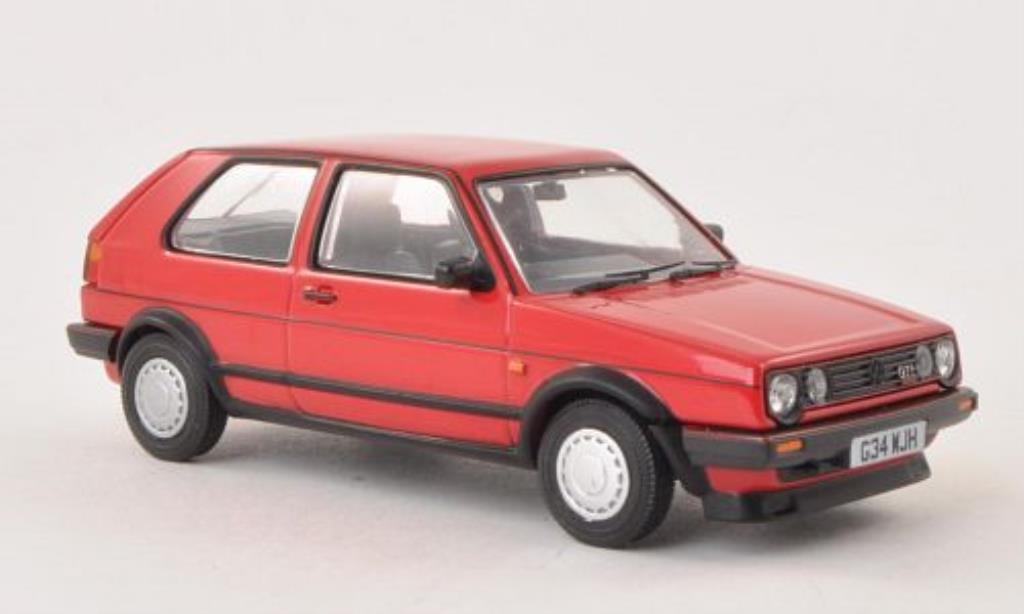 Volkswagen Golf 2 GTI 1/43 Vanguards 16V rouge RHD miniature