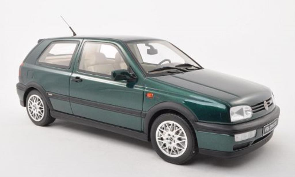 Volkswagen Golf III 1/18 Ottomobile VR6 Syncro verde miniatura