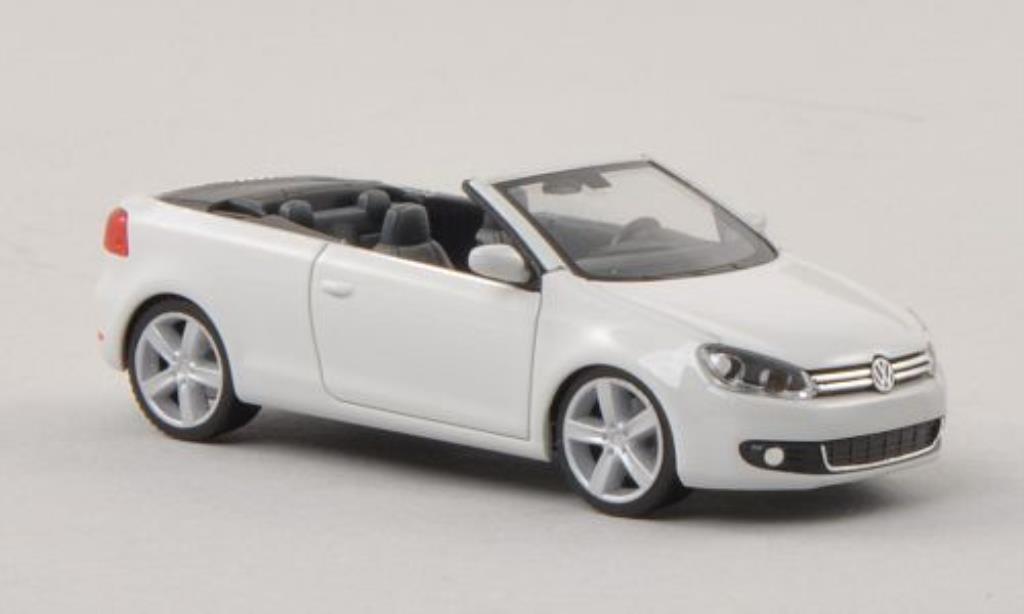 Volkswagen Golf VI 1/87 Herpa Cabriolet white