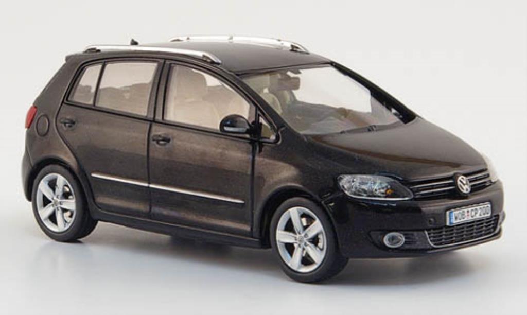 Volkswagen Golf VI 1/43 Schuco Plus noire 2009 miniature